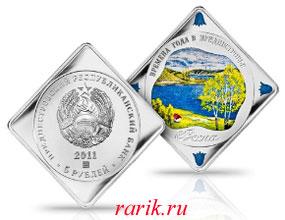 Памятная монета Весна, 2011